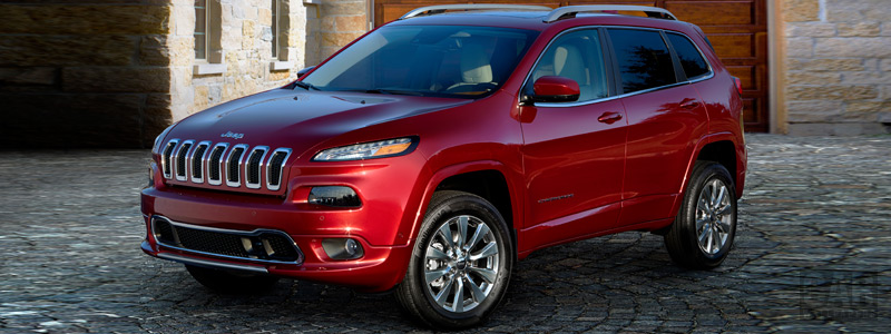 Cars wallpapers Jeep Cherokee Overland - 2016 - Car wallpapers