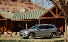 Cars wallpapers Jeep Cherokee Overland - 2017