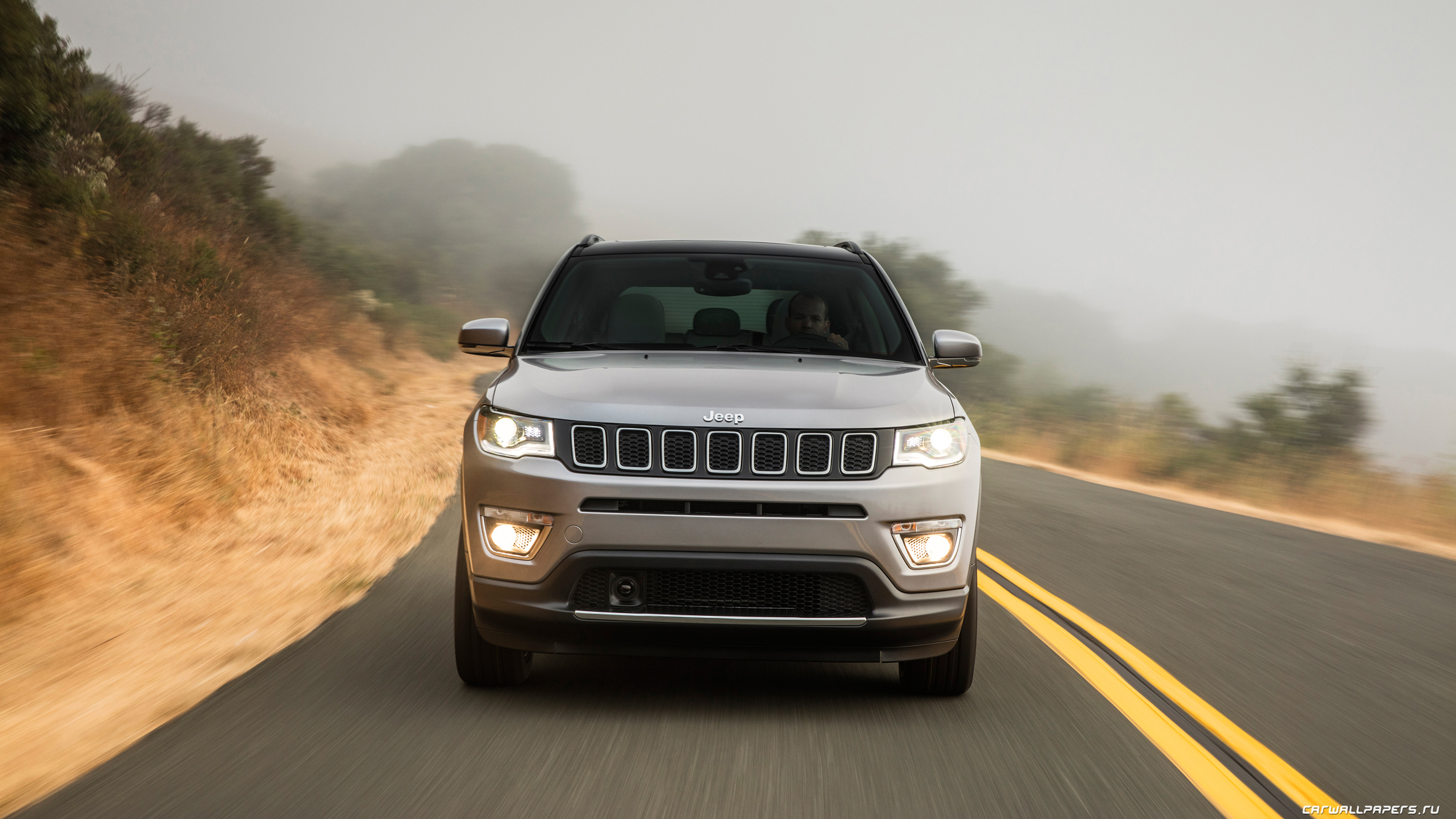 Cars Desktop Wallpapers Jeep Compass Limited 2017