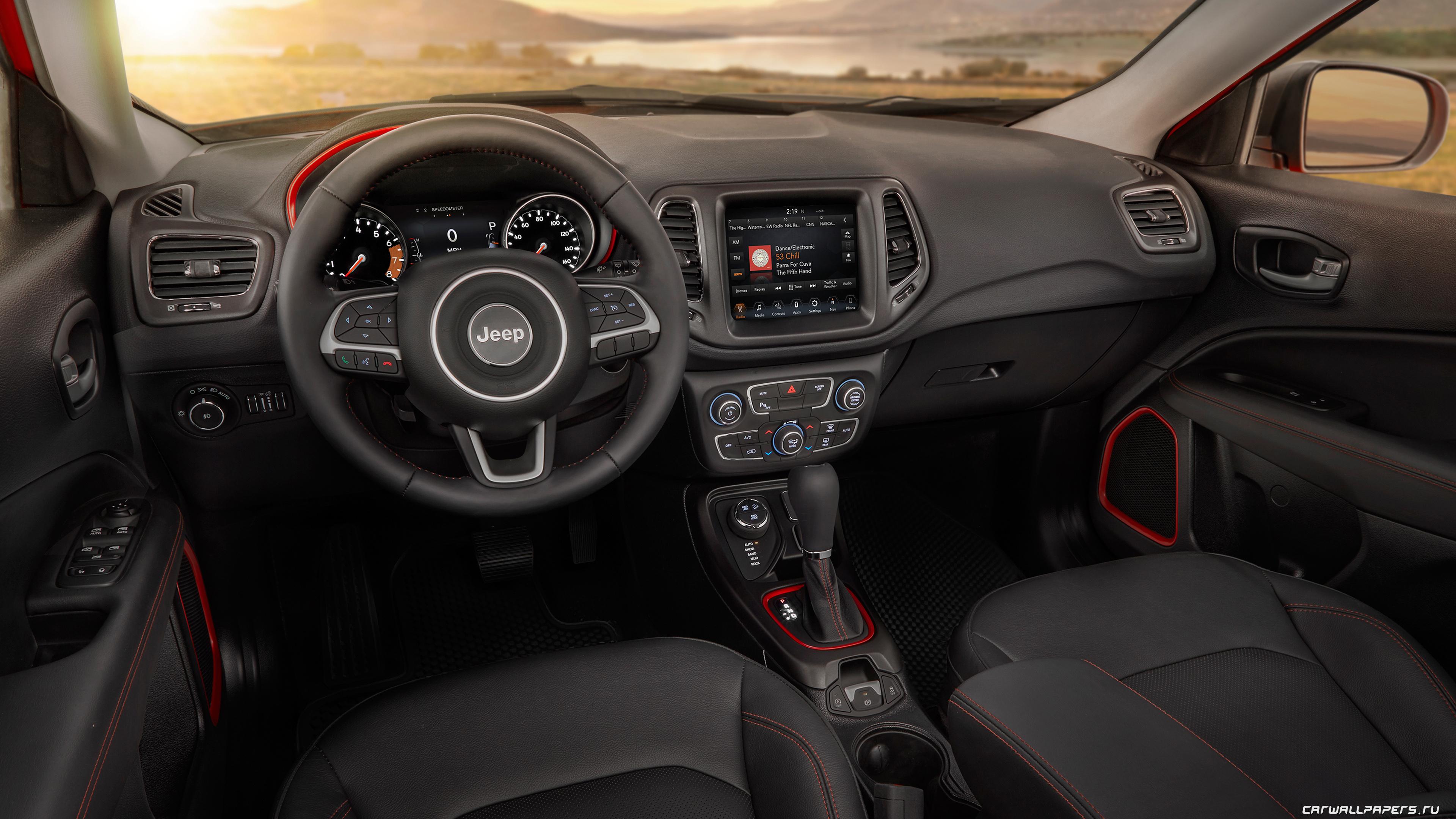 Cars Desktop Wallpapers Jeep Compass Trailhawk 2017