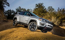 Обои автомобили Jeep Compass Trailhawk - 2017