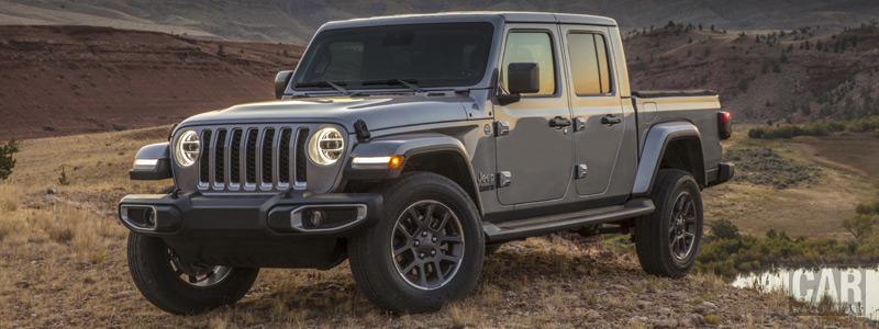 Обои автомобили Jeep Gladiator Overland - 2019 - Car wallpapers
