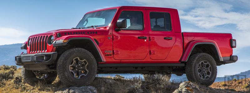 Обои автомобили Jeep Gladiator Rubicon - 2019 - Car wallpapers