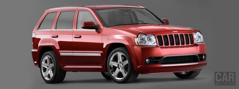 Обои автомобили Jeep Grand Cherokee SRT8 - 2006 - Car wallpapers