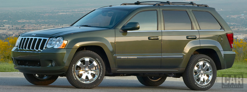 Обои автомобили Jeep Grand Cherokee Limited - 2008 - Car wallpapers