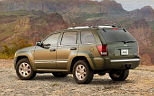Обои автомобили Jeep Grand Cherokee Limited - 2008