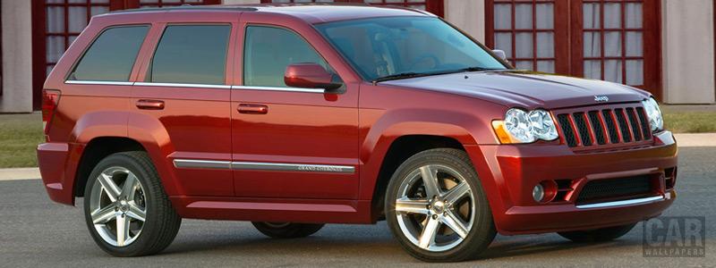 Обои автомобили Jeep Grand Cherokee SRT8 - 2008 - Car wallpapers