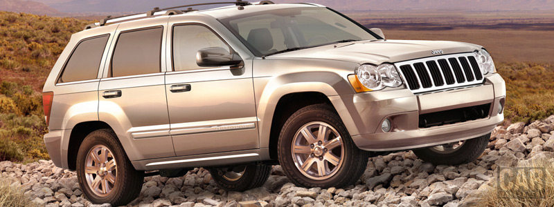 Обои автомобили Jeep Grand Cherokee Limited - 2009 - Car wallpapers