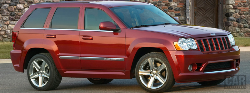 Обои автомобили Jeep Grand Cherokee SRT8 - 2009 - Car wallpapers