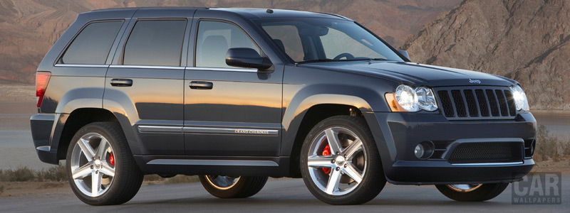 Обои автомобили Jeep Grand Cherokee SRT8 - 2010 - Car wallpapers
