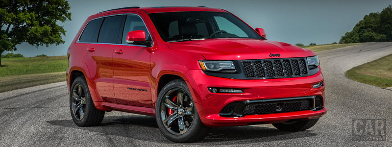 Обои автомобили Jeep Grand Cherokee SRT Red Vapor - 2014 - Car wallpapers