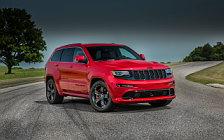 Обои автомобили Jeep Grand Cherokee SRT Red Vapor - 2014