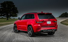 Cars wallpapers Jeep Grand Cherokee SRT Red Vapor - 2014