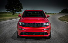 Обои автомобили Jeep Grand Cherokee SRT Red Vapor - 2014