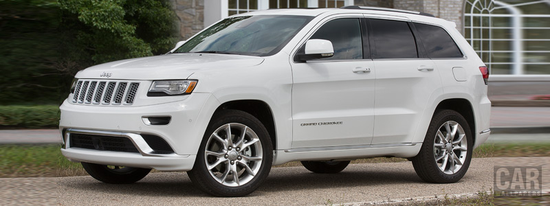 Обои автомобили Jeep Grand Cherokee Summit California - 2014 - Car wallpapers