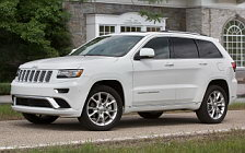 Обои автомобили Jeep Grand Cherokee Summit California - 2014