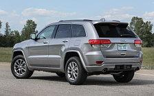 Обои автомобили Jeep Grand Cherokee Overland - 2016