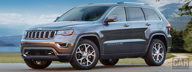Обои автомобили Jeep Grand Cherokee Sterling Edition - 2017 - Car wallpapers