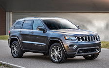 Обои автомобили Jeep Grand Cherokee Sterling Edition - 2017