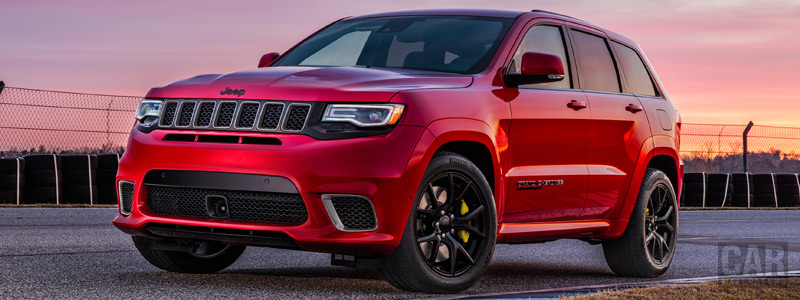 Обои автомобили Jeep Grand Cherokee Trackhawk - 2017 - Car wallpapers