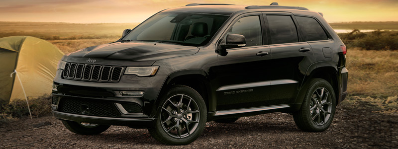 Обои автомобили Jeep Grand Cherokee Limited X - 2018 - Car wallpapers