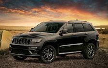 Обои автомобили Jeep Grand Cherokee Limited X - 2018