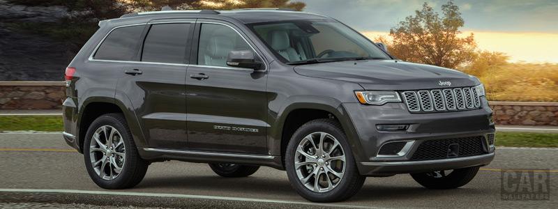 Обои автомобили Jeep Grand Cherokee Summit - 2018 - Car wallpapers