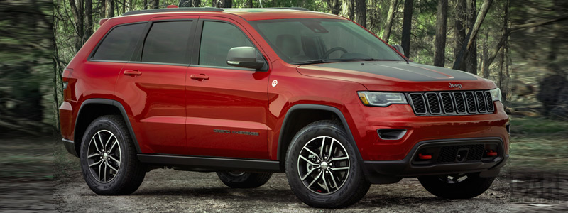 Обои автомобили Jeep Grand Cherokee Trailhawk - 2018 - Car wallpapers
