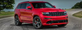 Jeep Grand Cherokee SRT Red Vapor - 2014