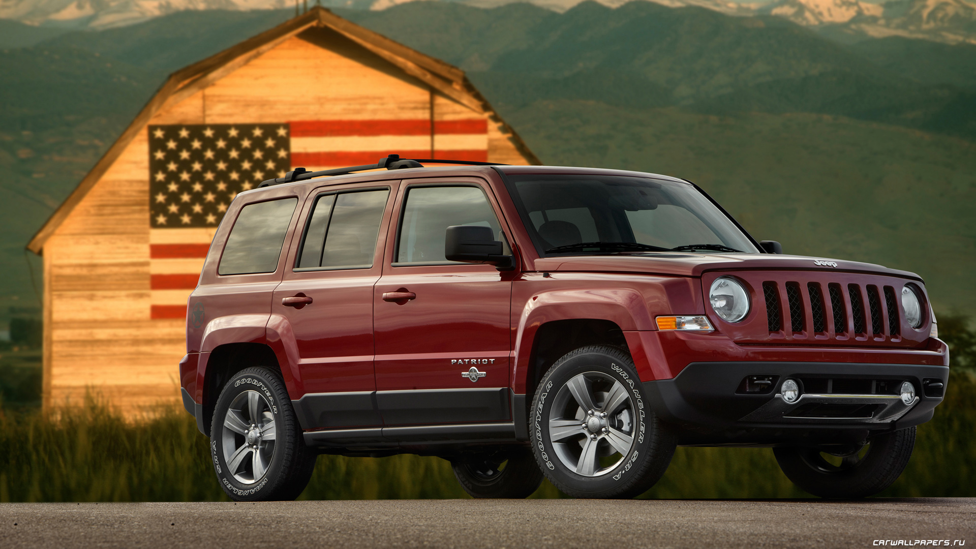 Cars Desktop Wallpapers Jeep Patriot Freedom Edition 2012