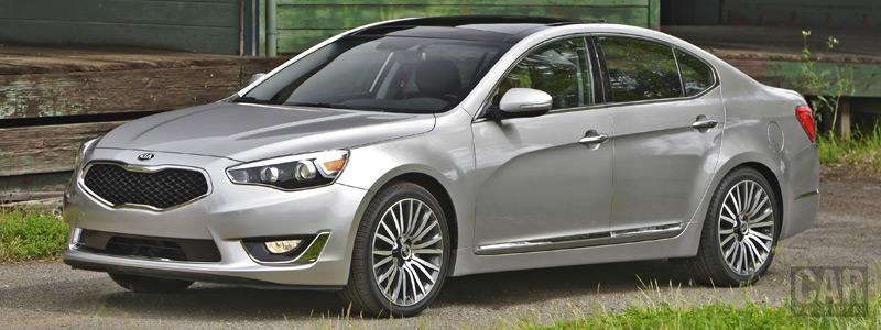 Обои автомобили Kia Cadenza US-spec - 2013 - Car wallpapers