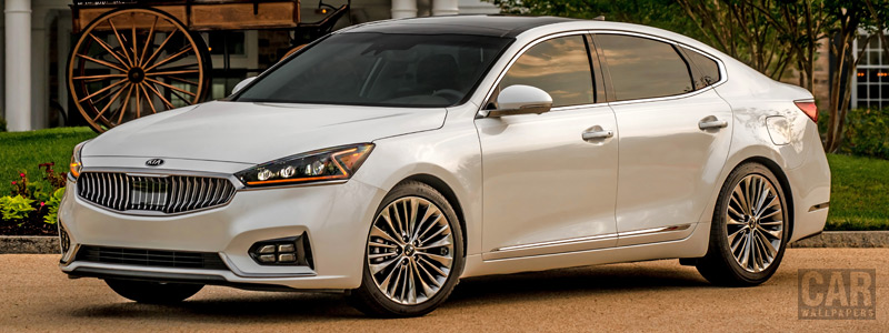 Обои автомобили Kia Cadenza SXL US-spec - 2016 - Car wallpapers