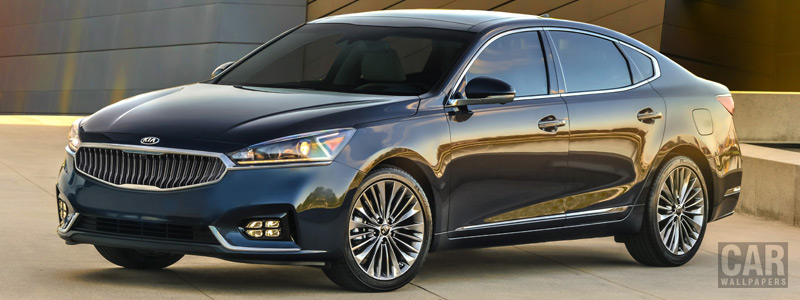 Обои автомобили Kia Cadenza US-spec - 2016 - Car wallpapers