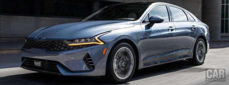 Обои автомобили Kia K5 EX US-spec - 2020 - Car wallpapers
