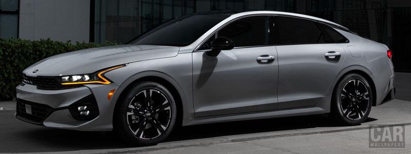 Обои автомобили Kia K5 GT-Line AWD US-spec - 2020 - Car wallpapers