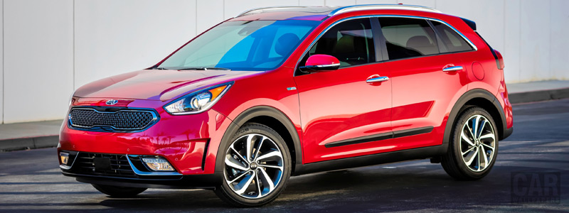 Обои автомобили Kia Niro US-spec - 2016 - Car wallpapers