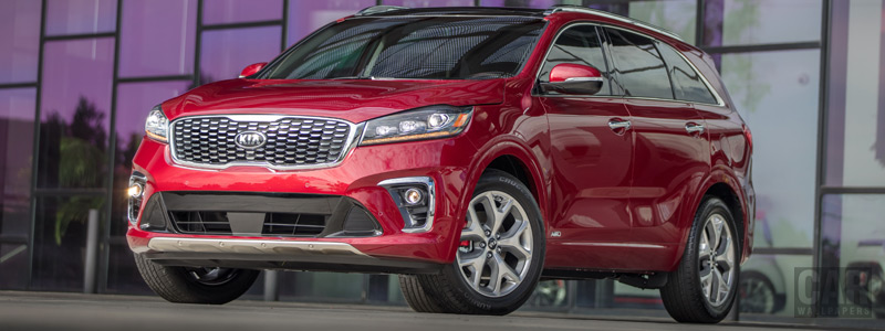 Обои автомобили Kia Sorento SX US-spec - 2018 - Car wallpapers