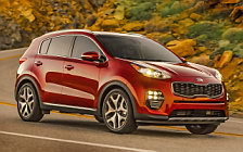 Обои автомобили Kia Sportage SX Turbo 2WD US-spec - 2016