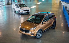 Обои автомобили Kia Sportage SX Turbo AWD US-spec - 2016