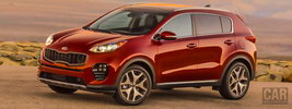 Kia Sportage SX Turbo 2WD US-spec - 2016