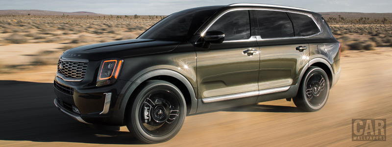 Обои автомобили Kia Telluride US-spec - 2019 - Car wallpapers