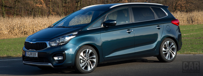Обои автомобили Kia Carens EcoDynamics - 2016 - Car wallpapers