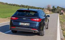 Обои автомобили Kia Optima Sportswagon EcoDynamics - 2016