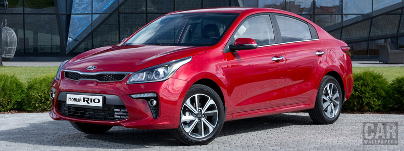 Обои автомобили Kia Rio (FB) - 2017 - Car wallpapers