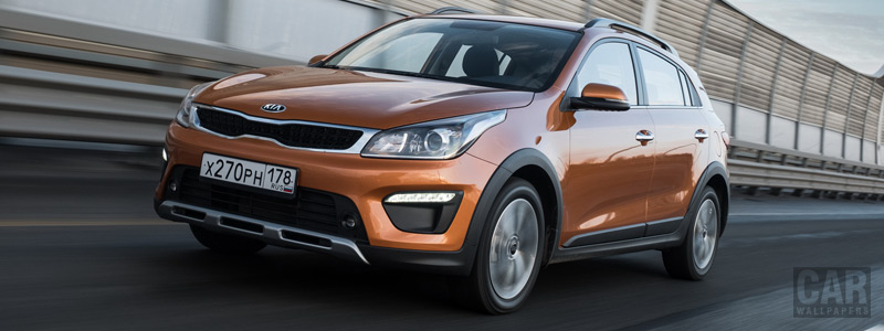 Обои автомобили Kia Rio X-Line (FB) - 2017 - Car wallpapers