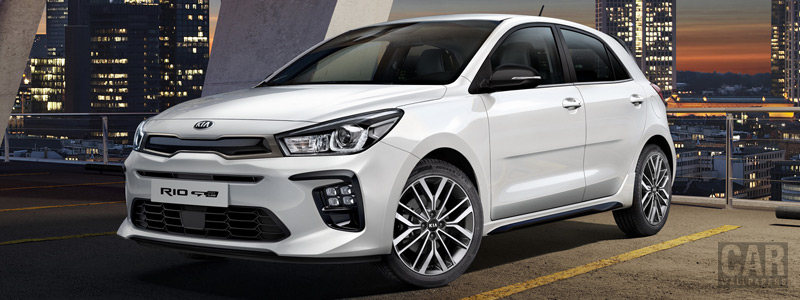 Обои автомобили Kia Rio GT-Line - 2018 - Car wallpapers