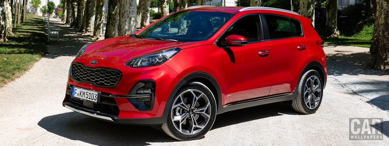 Обои автомобили Kia Sportage GT Line - 2018 - Car wallpapers