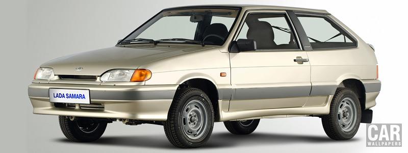 Обои автомобили Лада Самара 2113 - 2004 - Car wallpapers