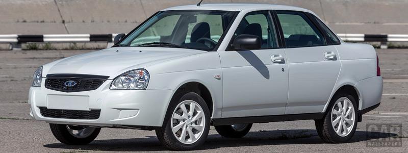 Обои автомобили Лада Приора White Edition - 2016 - Car wallpapers