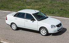 Обои автомобили Лада Приора White Edition - 2016